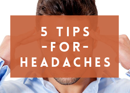 Relief Plus brings your 5 Tips for dealing with headaches and migraines.
