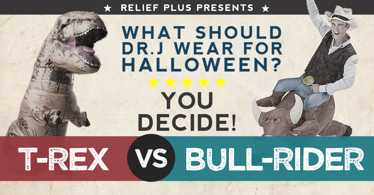VOTE NOW! Decide what Dr. J wears for Halloween!